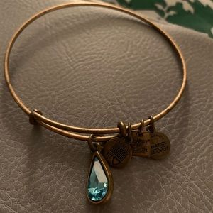Alex and Ani charity by design bracelet (gold)